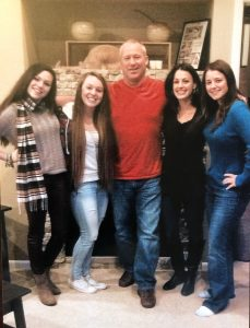 william and his four daughters