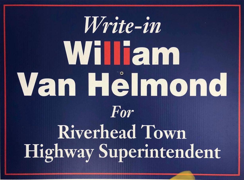 Van Helmond to Run for Riverhead Highway Superintendent